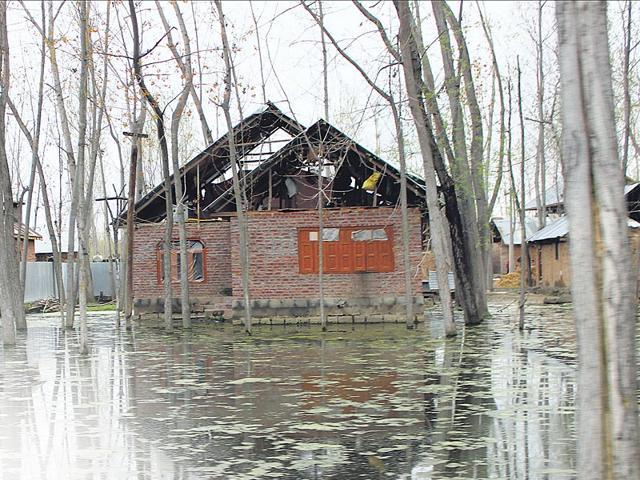 Jammu and Kashmir floods,Srinagar,Shahtalpora