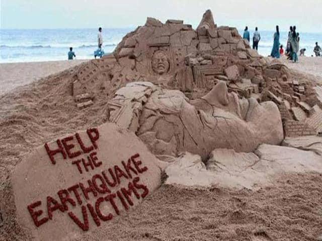 Nepal Earthquake,Sudarsan Pattnaik Nepal Earthquake,Nepal Earthquake Victims