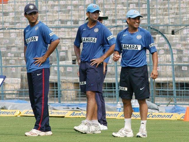 Sachin Tendulkar,Sourav Ganguly,Rahul Dravid
