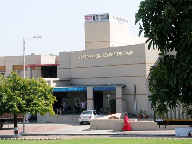 Madhya-Pradesh-Professional-Examination-Board-PEB-office-in-Bhopal-HT-photo