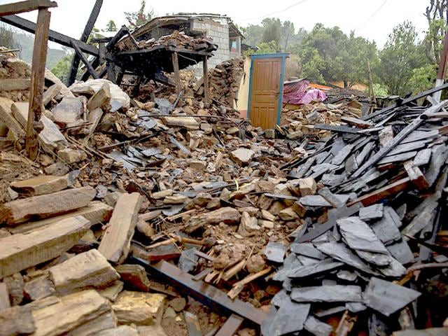 A-devastated-area-is-pictured-following-Saturday-s-earthquake-at-Paslang-village-in-Gorkha-Nepal-Reuters
