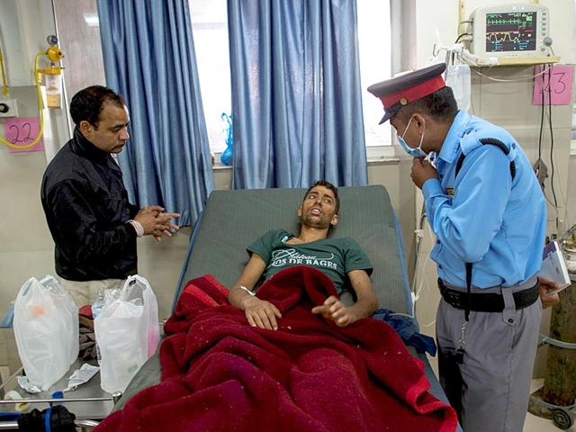 Rishi-Khanal-was-pulled-out-from-a-collapsed-residential-building-following-Saturday-s-earthquake-in-Kathmandu-Nepal-April-29-2015-Reuters-Photo