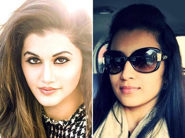 Taapsee-Pannu-L-will-soon-be-seen-in-Tamil-film-Vai-Raja-Vai-which-releases-on-May-1-while-Trisha-Krishnan-was-last-seen-in-superhit-Yennai-Arindhaal-dudette583-Facebook-Taapseeofficial-Facebook