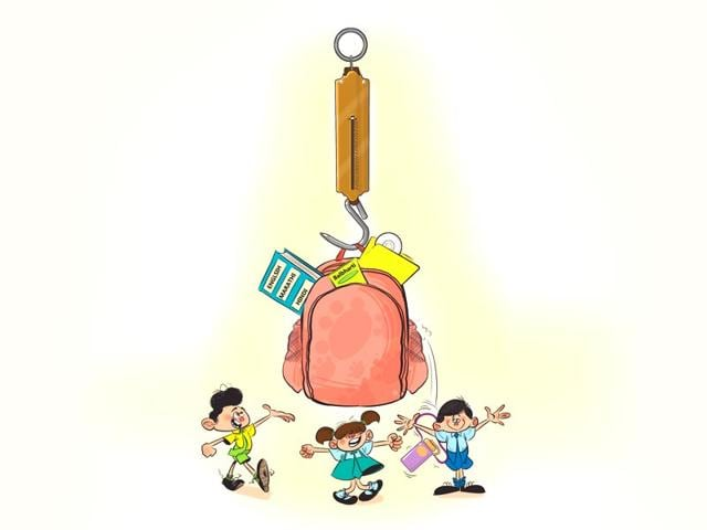 Schoolbags,weight of students' schoolbags,Maharashtra government