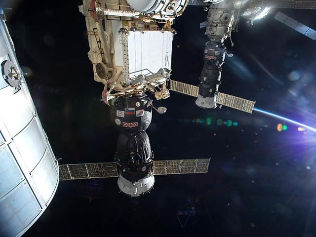 Russian-officials-said-Progress-M-27M-an-unmanned-cargo-spacecraft-carrying-supplies-to-the-International-Space-Station-had-suffered-a-glitch-after-a-successful-launch-earlier-in-the-day-Image-Courtesy-NASA