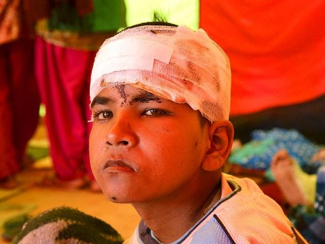 An-earthquake-victim-recovers-at-a-makeshift-ward-next-to-the-government-hospital-in-Chautara-Nepal-Gurinder-Osan-HT-Photo
