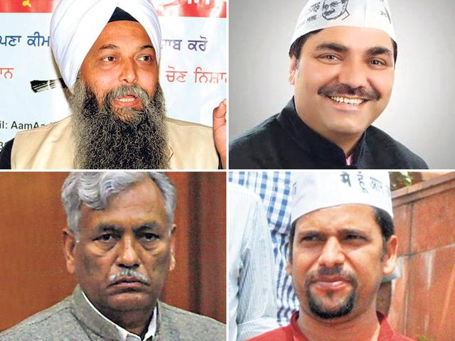The-police-are-investigating-senior-AAP-leaders-including-six-of-its-MLAs-for-cases-of-assault-rioting-abetment-to-suicide-and-buying-votes-during-the-assembly-elections