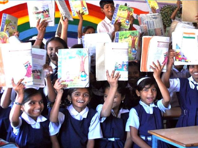 According-to-the-report-in-2014-only-three-out-of-10-Class-4-students-could-read-Class-1-lessons-HT-photo