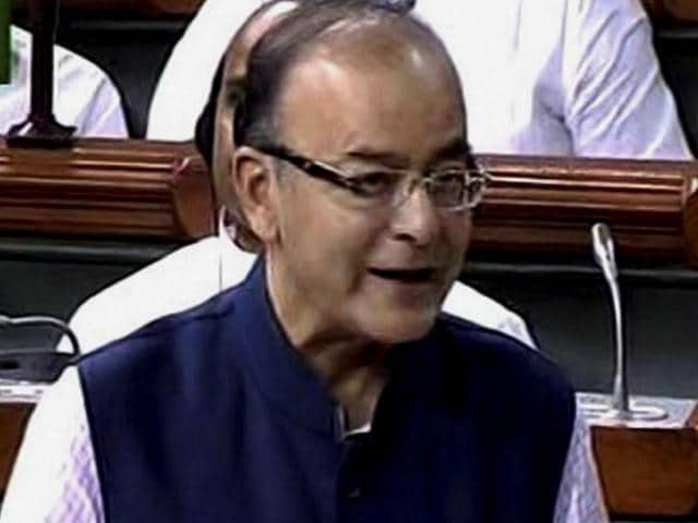 Finance-minister-Arun-Jaitley-speaks-in-the-Lok-Sabha-in-New-Delhi-PTI-Photo