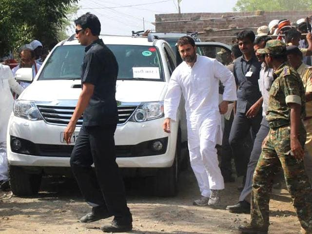 Congress-vice-president-Rahul-Gandhi-launched-his-sanvad-padyatra-from-Gunji-village-in-Amravati-district-in-Maharashtra-Photo-Sunny-Shende