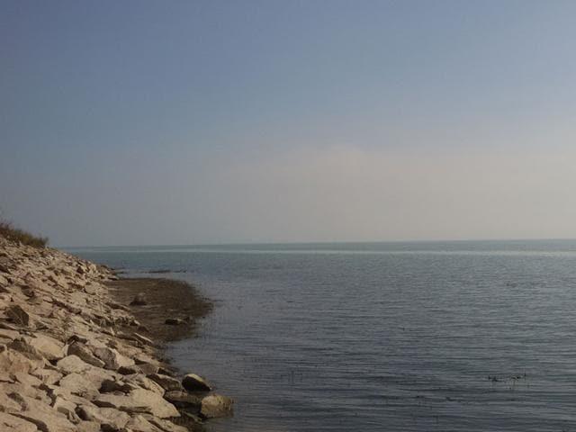 Rihand reservoir
