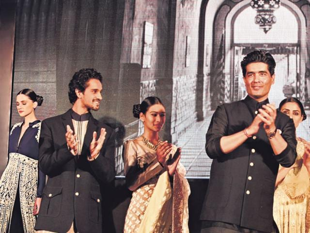 One-constant-at-HT-style-awards-has-been-an-exclusive-fashion-show-by-design-maverick-and-fashion-s-favourite-Manish-Malhotra-who-has-showcased-his-creations-at-the-ceremony-over-the-past-two-years-HT-Photo