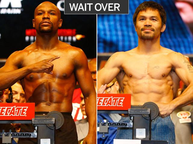 Floyd Mayweather Jr,Manny Pacquiao,Fight of the Century