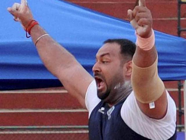 Inderjeet Singh,shot put,Rio Olympics