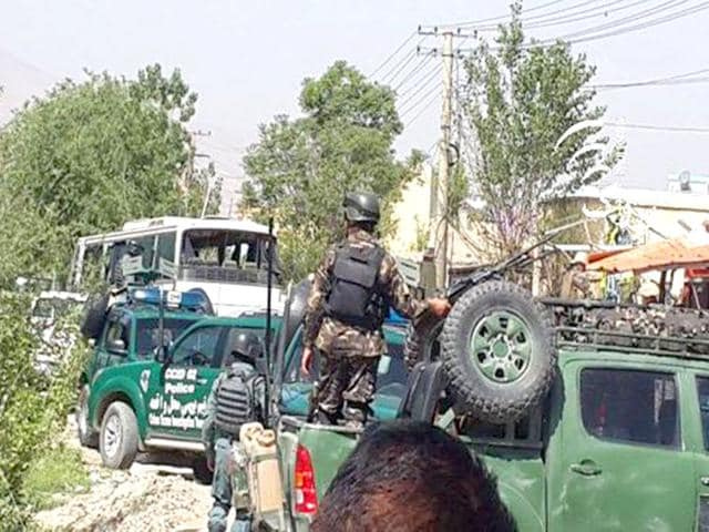 This-photo-released-on-Twitter-by-pajhwok-shows-the-site-of-the-attack-in-Kabul-HT-could-not-independently-verify-the-authenticity-of-the-image
