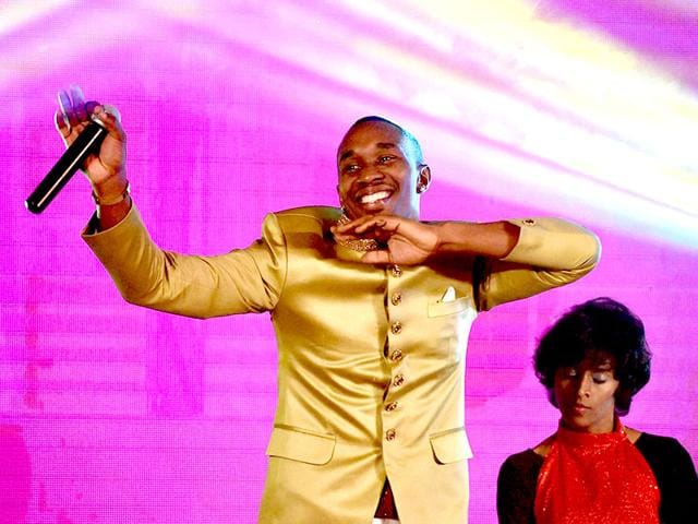 West-Indies-all-rounder-Dwayne-Bravo-dancing-during-the-launch-of-a-new-song-called-Chalo-Chalo-at-an-event-in-Chennai-on-Sunday-PTI-Photo