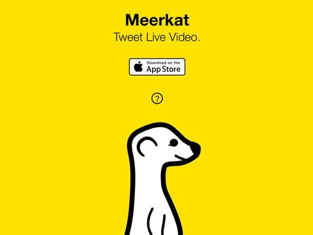 Meerkat,Facebook,Live streaming