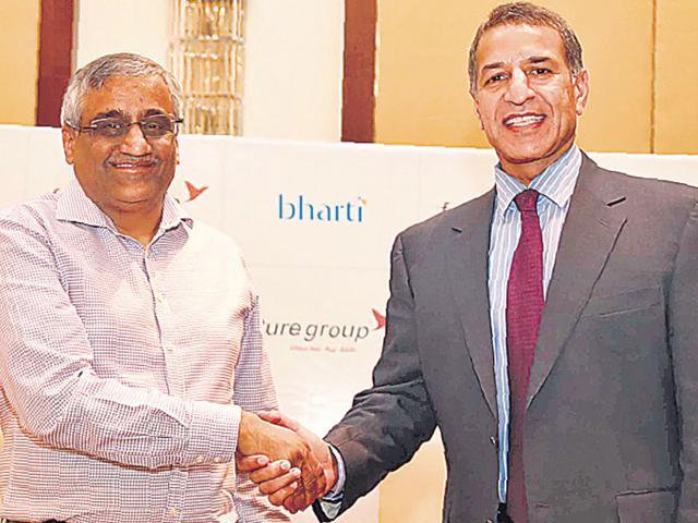 Future Group,Bharti Enterprises,retail sector