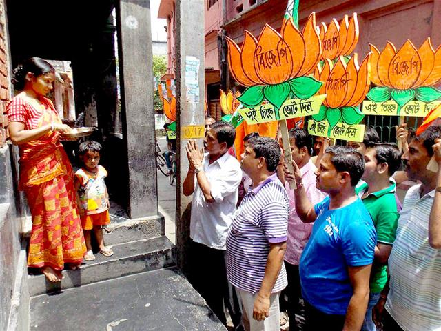 After-defeat-in-the-civic-polls-in-Bengal-the-BJP-is-looking-to-the-RSS-to-bolster-its-presence-in-the-region-PTI-File-Photo