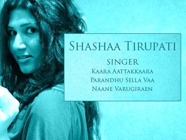 Shashaa Tirupati,O Kadhal Kammani,Mani Ratnam