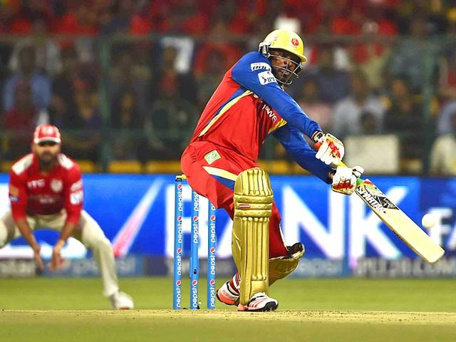 Royal-Challengers-Bangalore-opener-Chris-Gayle-celebrates-after-completing-his-century-against-Kings-XI-Punjab-at-M-Chinnaswamy-Stadium-in-Bengaluru-on-May-6-2015-Virendra-Singh-Gosain-HT-Photo