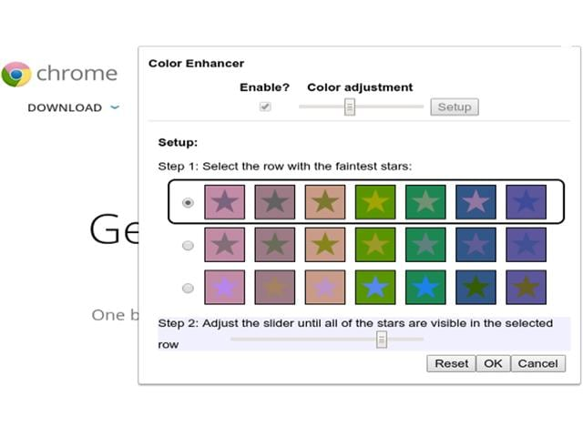 Google Adds Color Blind Filter To Its Chrome Browser Tech Reviews