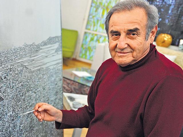 Devrim Erbil,Devrim Erbil Paintings,Devrim Erbil Exhibition India