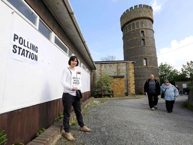 British-Prime-Minister-and-Conservative-Party-leader-David-Cameron-talks-to-supporters-at-the-Windrush-Leisure-Centre-Witney-north-west-of-London-on-as-votes-are-counted-AFP-Photo