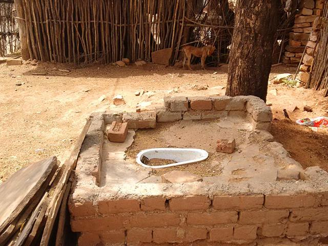 Families-of-the-Saharia-tribe-now-use-toilets-as-storerooms-or-have-demolished-them-and-used-the-bricks-in-constructing-their-houses-HT-Photo
