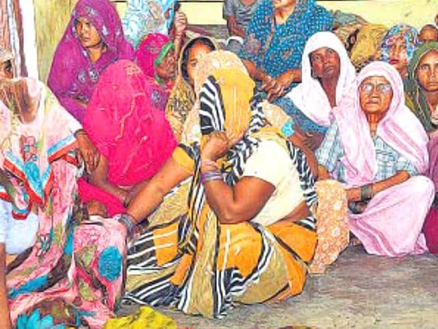 Relatives-mourn-the-death-of-Mohan-the-minor-who-was-killed-by-a-monkey-in-Ghaziabad-s-Morta-on-Thursday