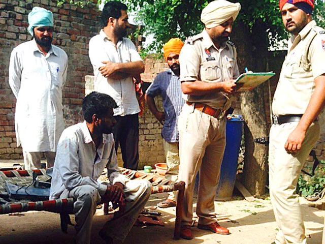 Accused-Sukhwinder-Singh-sitting-in-police-custody-at-Kurail-HT-Photo