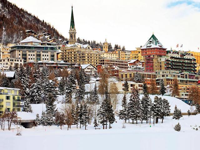 St Moritz,Charles De Gaulle,Badrutt Palace