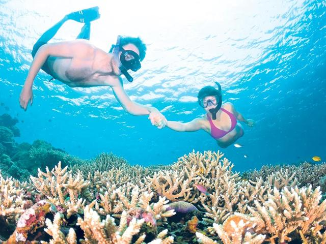 Scuba-diving-in-Amed-a-long-coastal-strip-of-fishing-villages-in-East-Bali-Thinkstock
