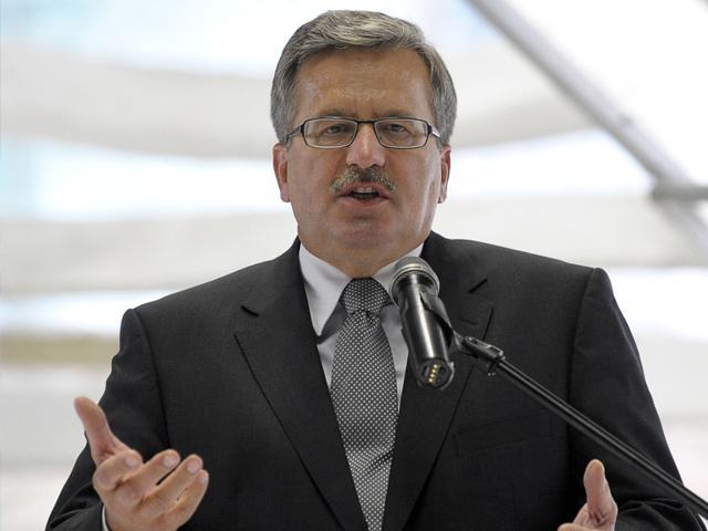 Poland-s-President-Bronislaw-Komorowski-delivers-a-speech-AFP-Photo