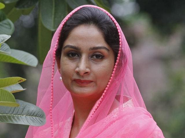 Union-cabinet-minister-Harsimrat-Badal-HT-Photo