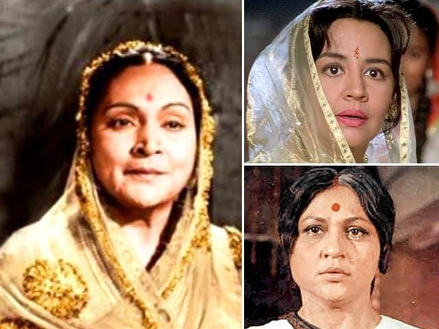 Bollywood On-Screen Moms,On-Screen Moms,Durga Khote