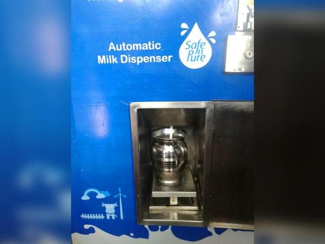 Milk vending Machines,Mankhurd