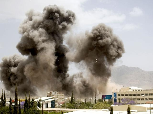In-this-file-photo-smoke-billows-from-a-Saudi-led-airstrike-in-Sanaa-Yemen-AP-Photo