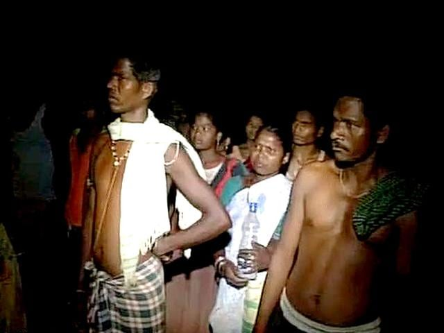 Villagers-set-free-by-Maoists-on-Saturday-9-May-2015-in-Sukma-district-of-Chhattisgarh-Maoists-had-abducted-over-200-villagers-ahead-of-PM-Modi-s-visit-to-the-state