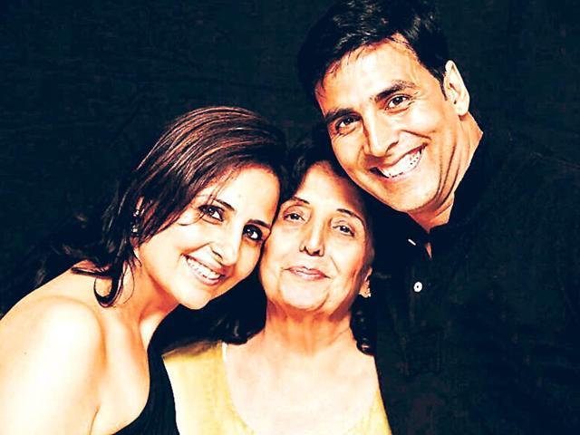 Akshay Kumar,Aruna Bhatia,Akshay Kumar Mother