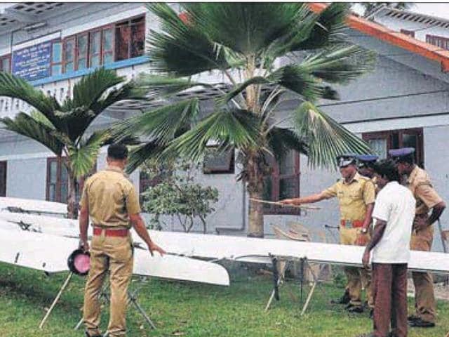 Police-personnel-at-SAI-centre-in-Alappuzha-HT-Photo