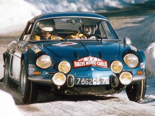 Renault Alpine A110,Alpin