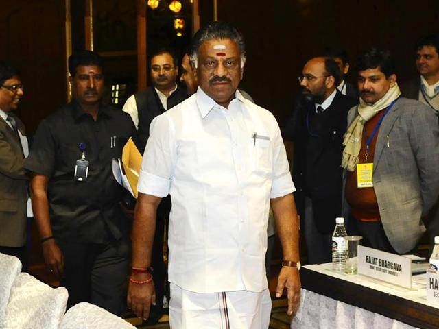 O-Panneerselvam-took-charge-as-the-chief-minister-of-Tamil-Nadu-after-Jayalalithaa-was-forced-to-step-down-in-September-2014-Vipin-Kumar-HT-File-Photo