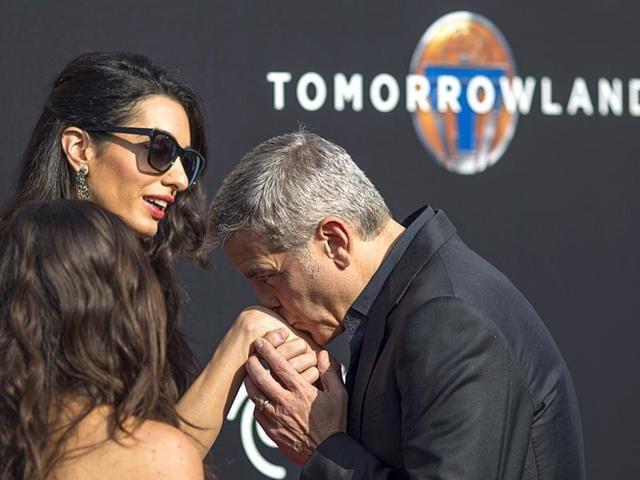 George Clooney,Amal Clooney,Amal Alamuddin