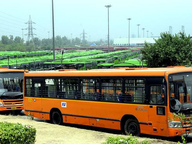 Buses-parked-at-the-Indraprastha-DTC-Bus-Terminal-after-DTC-employees-struck-work-following-the-death-of-a-42-year-old-DTC-bus-driver-Ashok-Kumar-who-was-beaten-to-death-on-Sunday-morning-Sonu-Mehta-HT-Photo
