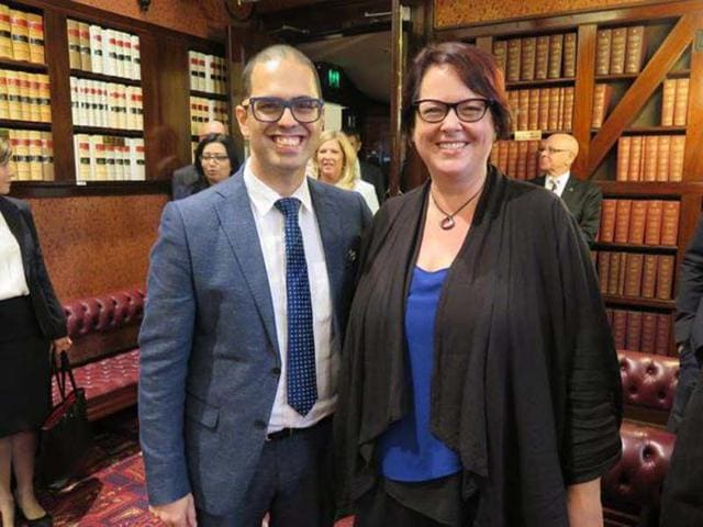 Daniel-Mookhey-along-with-Penny-Sharpe-were-elected-as-members-of-the-New-South-Wales-Upper-House-Mookhey-became-the-first-politician-in-Australia-to-be-sworn-in-on-the-Gita-Photo-Courtesy-nsw-upperhouse