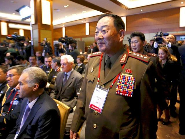 North Korea defence chief
