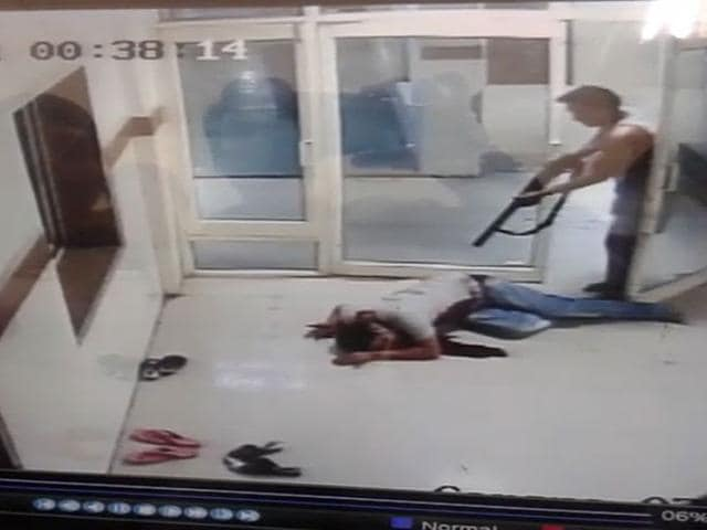 A-clip-of-CCTV-footage-showing-the--incident-at-Bhind-district-hospital-on-Tuesday-night-The-clip-was-provided-by-hospital-administration