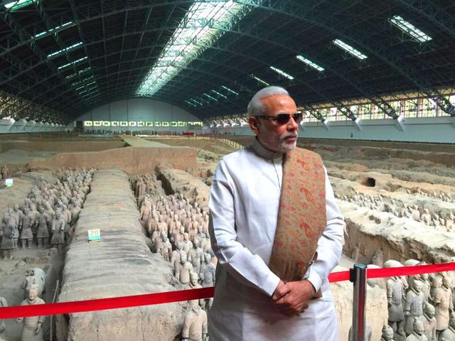 Xian,Modi in China,Narendra Modi