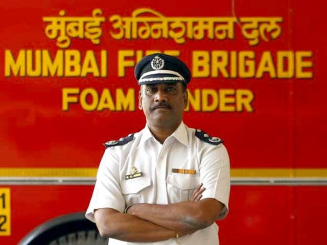 Sudhir Amin,fire officer,Mumbai fire brigade